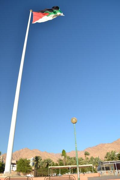 Vlaggenmast Aqaba