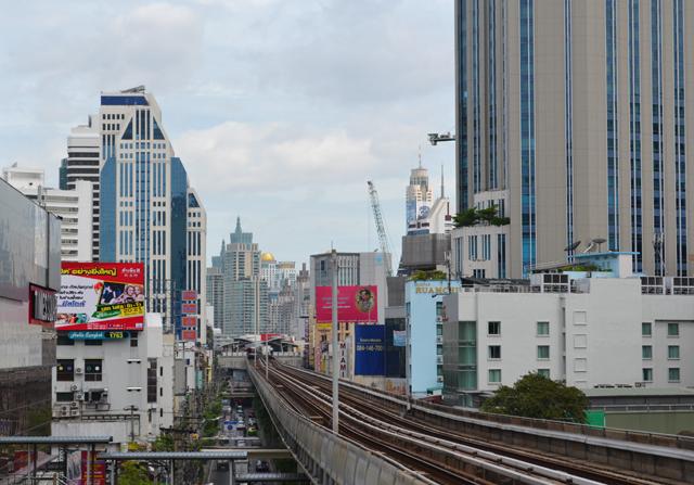 Eerste keer Bangkok