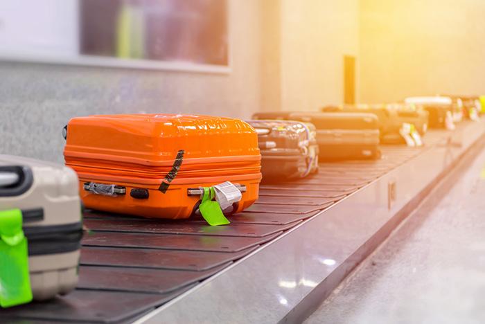 Koffer kwijt bagageband