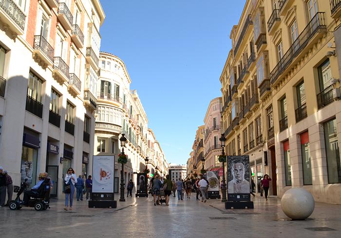 Winkelstraat Malaga